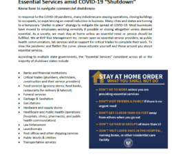 Cover_Essential Service States COVID19
