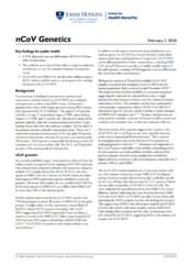 nCoV Genetics